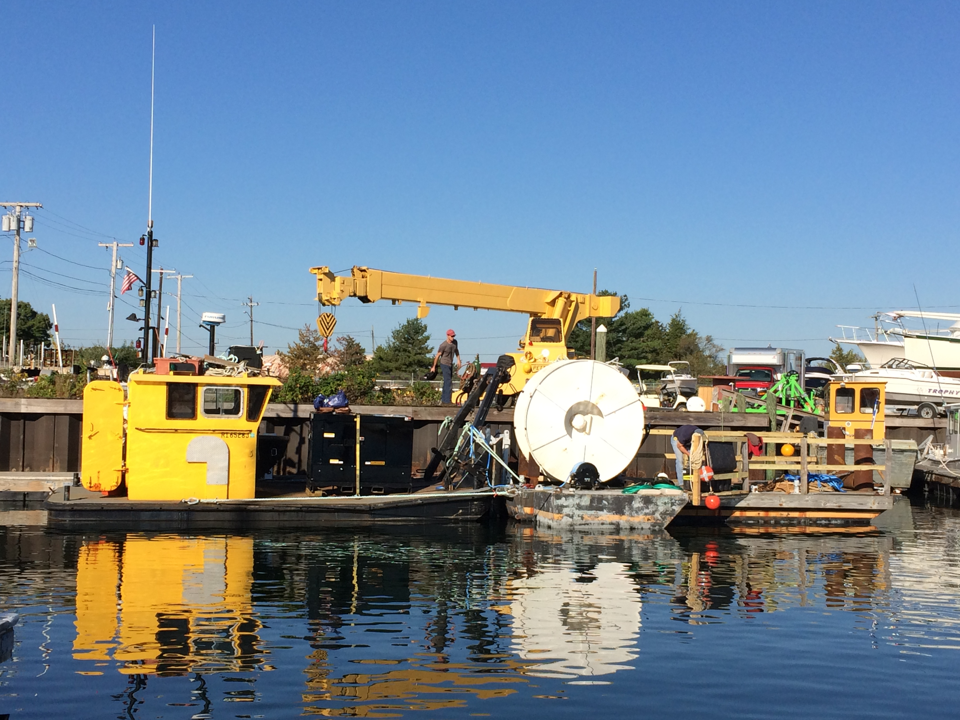 URI research project ready to leave the harbor